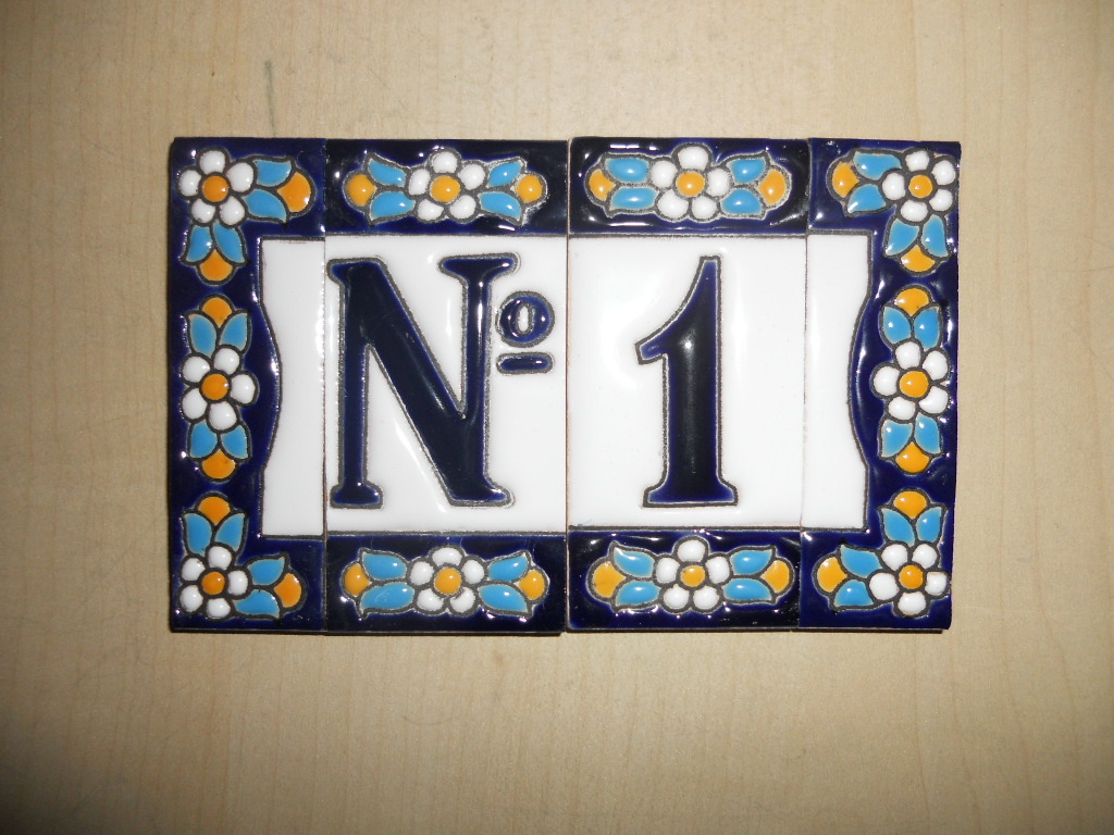 address house tiles numbers and letters www With tile house numbers and letters