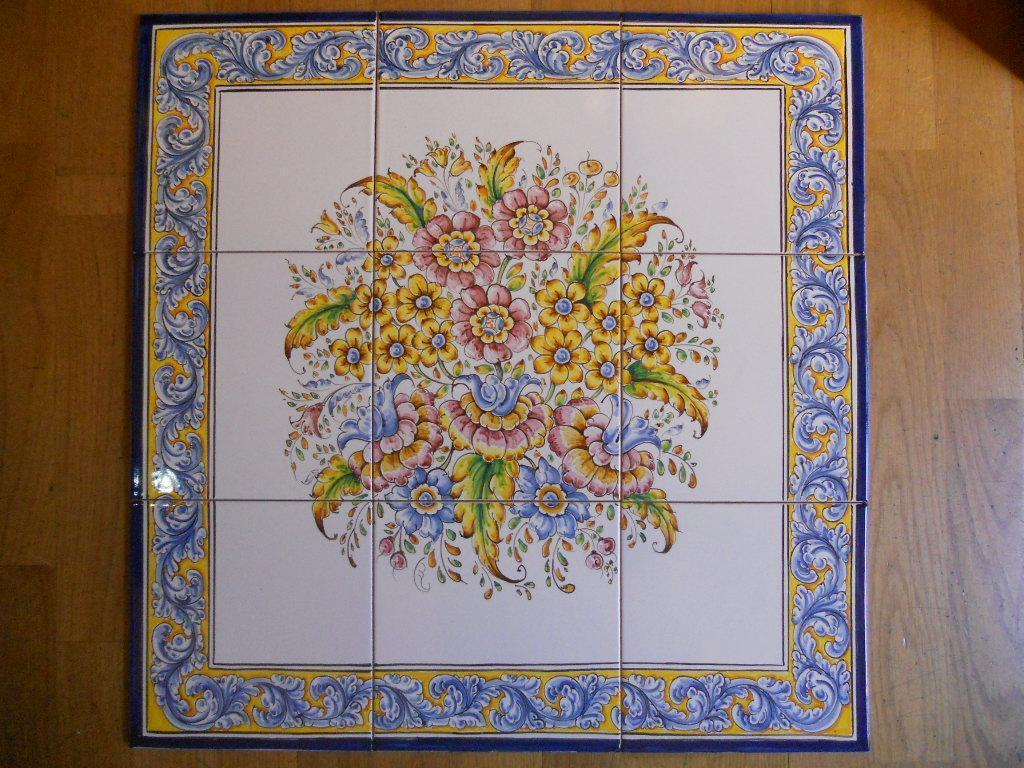 Mosaic of tiles by order 45 cm x 45 cm