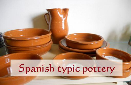 Typical spanish pottery